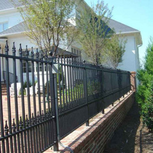 Powder coating and Fencing in Monroe, Oak Island, & the surrounding NC areasC