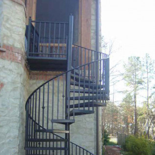 Iron Railing, Iron Stair Installation, Aluminum Railing<br/>Winnabow, NC and Wilmington, NC